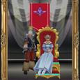 王と王妃の肖像画
